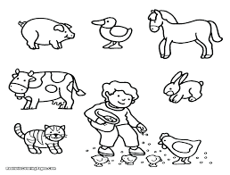 Zoo Animal Coloring Sheets Printable Animal Coloring Pages Farm