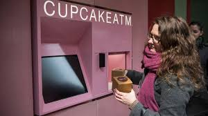 Cupcake Vending Machine Chicago Adorable Cupcake ATM Pops Out Treats In 48 Seconds ABC News