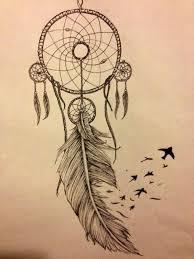 Dream Catcher Tattoo With Birds im onto the idea of adding onto my feather with birdslike a 1