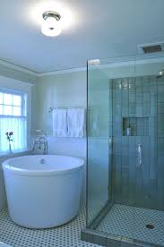 Mesmerizing Small Soaker Tub With Shower Pics Design Ideas ...