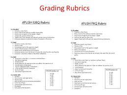 essay format dbq frq importance dbq % of your ap test grade 10 grading rubrics