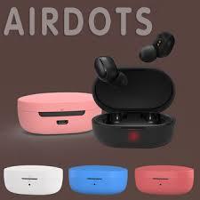 <b>Silicone Earphone Case</b> Box Silicone Protective Cover Wireless ...