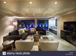 Living Room Set With Free Tv Beautiful Living Room With Big Windows Couple Of Sofas And