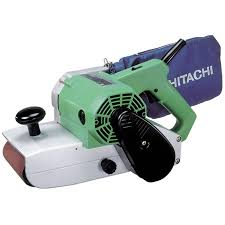 hitachi belt sander. hitachi power tools: products \u003e woodworking abrasives sb110 belt sander, 4 x 24\ hitachi sander c