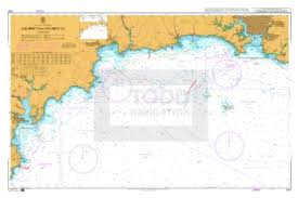 Admiralty Chart 1267 Falmouth To Plymouth Todd Navigation