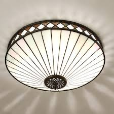 home interior wonderful tiffany style flush mount ceiling light amora lighting am1081hl12 stained glass from
