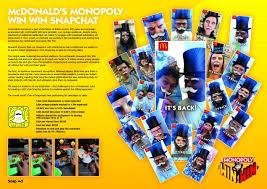 Mcdonald monopoly 2017