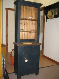 Corner Kitchen Hutch Furniture Would Love This Narrow Hutch In A Kitchen Think Home Decor