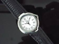 dunhill watch ladies dunhill stainless steel watch on leather watch strap nice condition