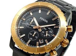 25 best ideas about men s watches black men s black and gold make a different look > fossil men s watch black steel