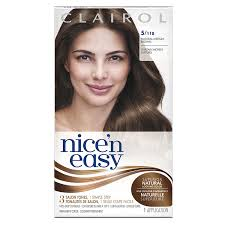 Amazon.com : Clairol Nice 'n Easy, 5/118 Natural Medium Brown, Permanent  Hair Color, 1 Kit (Pack of 3) : Chemical Hair Dyes : Beauty