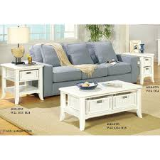 Antique White Coffee Tables The Simple Stores Antique White Coffee Table Set 4010w The