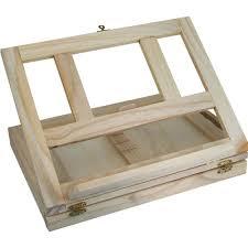 wooden combined easel desk