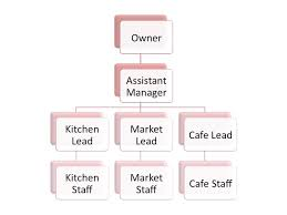 Organizational Chart For Coffee Shop Organizational Structure Of A Coffee Shop Essay Example