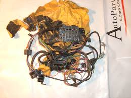 1964 65 66 chevrolet truck under dash wiring harness w gauges nos 1967 mustang under dash wiring harness at Under Dash Wiring Harness