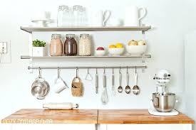 Kitchen hanging rack Storage Kitchen Hanging Racks Kitchen Wall Rack Kitchen Shelving Fashionable Design Nice Within Wall Shelves Decor Cupnsaucerinfo Kitchen Hanging Racks Kitchen Wall Rack Kitchen Shelving Fashionable