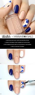 Powder Blue Geometric Nail Tutorial | Nails! | Pinterest ...