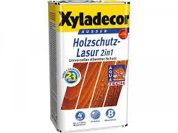 Xyladecor Holzschutz-Lasur palisander, 5L bei baywa-baumarkt.de ...