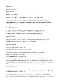 It Manager Resume Corol Lyfeline Co Agreeable Project Finance