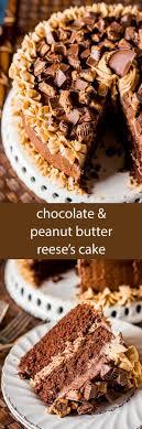 reese s cake homemade chocolate cake with chocolate and peanut er frosting reese s peanut er