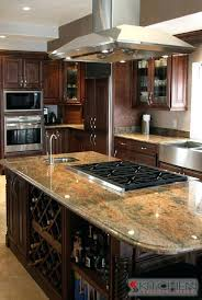 kitchens with island stoves. Kitchen Island With Stove Top Decoration Vanity In For Stoves Average Excellent 5 Kitchens O
