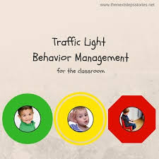Traffic Light Chart Behaviour Traffic Light Behaviour Management