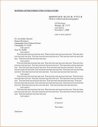 Apa Letter Format Of Intent To Congressman Cover Example Formal
