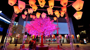 Hanging Paper Lantern Lights Indoor The Power Of Placemaking With Light Mk Illumination