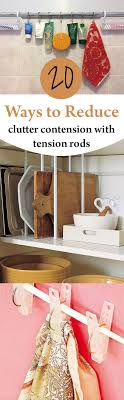 Best 25+ Tension rods ideas on Pinterest   Tension rods for ...