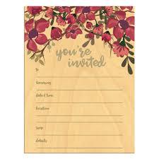 Blank Invitation Cards Major Magdalene Project Org