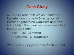 Case Studies Clinical pharmacy Case Study   Primary Hypertension
