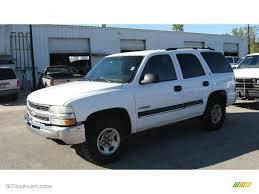 2001 Summit White Chevrolet Tahoe LS 4x4 #6569665 | GTCarLot.com ...