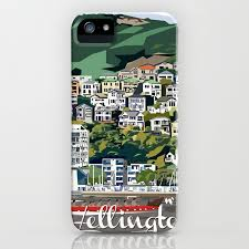 Wellington Harbour Nz Iphone Case