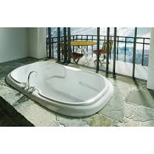 maax 60 x 42 x 23 calla 6042 acrylic soaking bathtub