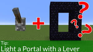 How To Light A Portal In Minecraft The Best Way To Light Portals In Minecraft