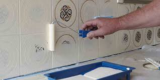 Can I Paint Bathroom Tile Simple How To Paint Tiles Bunnings Warehouse