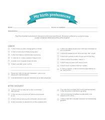 Bradley Birth Plan Template Birthing Plan Template Printable Birth Templates Uk Word Templ