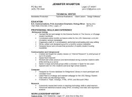 Resume Professional Skills Good Skills To Put On A Resume