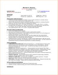 Resume Sample For Part Time Job Of College Student New Cv Resume