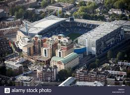 aerial view north west of stamford bridge chelsea football club the london oratory flats fulham