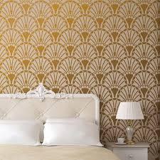 Wall Stencil Patterns Interesting Art Deco Stencils Glamorous Wall Stencils Inspired By Art Deco Period