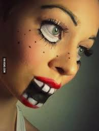 make up you dead doll tutorial creepy doll makeup how