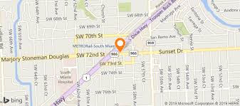 map of gables oriental rugs in south miami fl