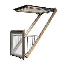 Fakro Balkonfenster Fgh V P2 94x255 Natur Günstig Kaufen Bei Dachgewerk