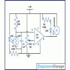 security alarm circuit diagram the wiring diagram circuit diagram for door security alarm using opam security circuit diagram