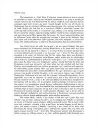 othello jealousy theme essay rubric write my essay affordable  google