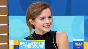 emma watson emma watson talks beauty and the beast on gma video