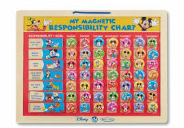 my responsibility chart melissa doug disney mickey mouse clubhouse my magnetic responsibility chart