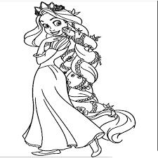 Kleurplaten Van Prinsessen Fris Disney Prinsessen Kleurplaat Beste