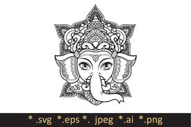 How to animate ball animation using after effects cycleanimation. Hindu Elephant Head God Lord Ganesh Graphic By Zoyali Creative Fabrica